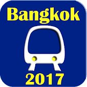 Bangkok BTS MRT Subway Map