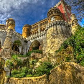 Pena National Palace by Bob Murray - Travel Locations Landmarks