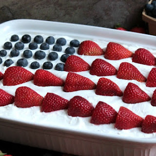 USA Flag Eclair.