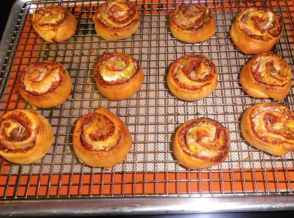 bake rounds for 12-15 minutes until golden brown.  brush with evoo.  allow...