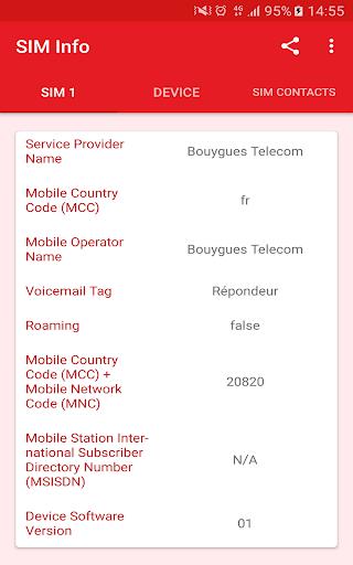 SIM Card Info screenshot 6
