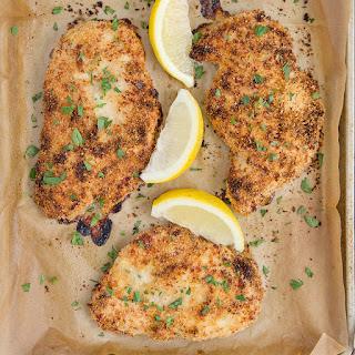 Crispy Garlic Parmesan Baked Chicken Recipe