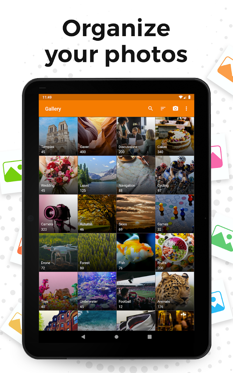 Simple Gallery Pro: Photo Manager & Editor Screenshot 6