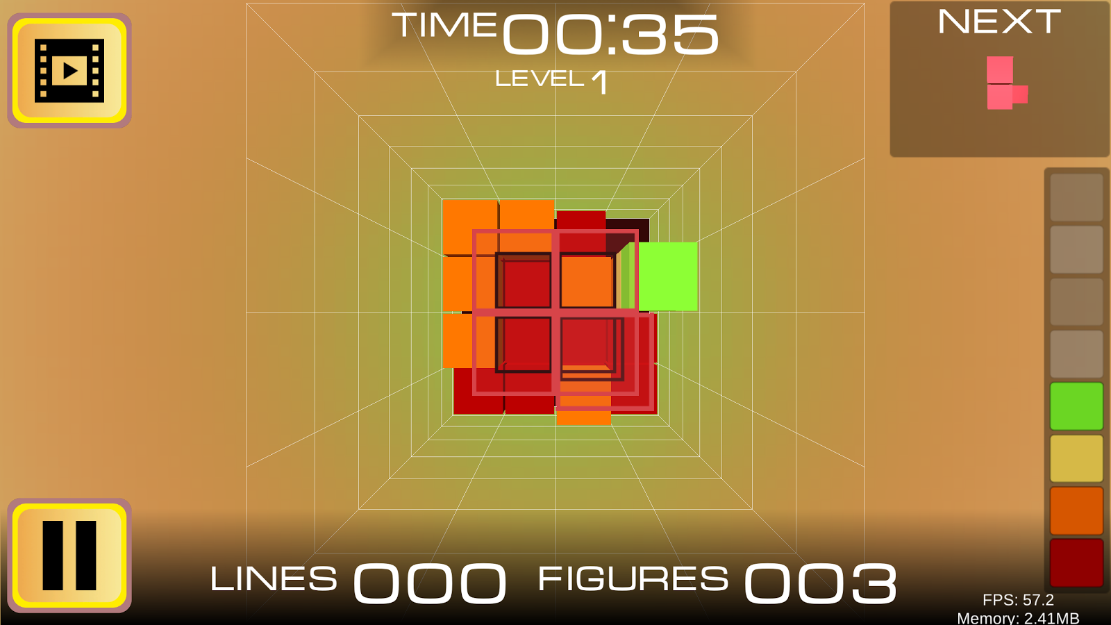 Puzzle 3D - Fit Me In- screenshot