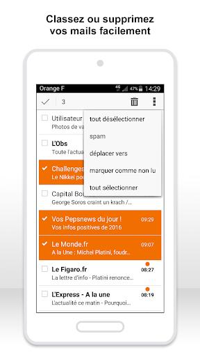 Mail Orange, 1er mail français screenshot 3