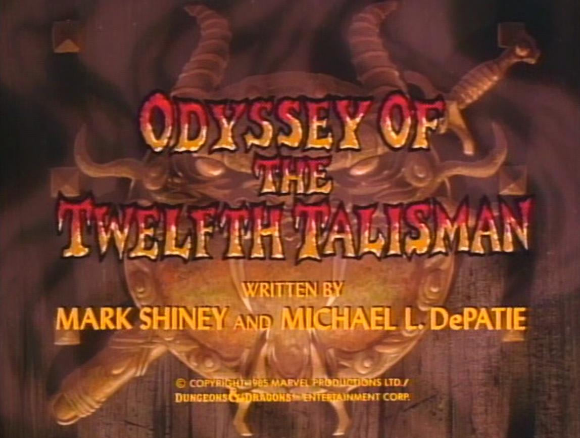 Odyssey of the Twelfth Talisman title card