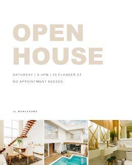 Flander Open House - Real Estate Flyer item