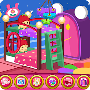 Twin newborn room decoration game