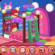 Twin newborn room decoration game APK