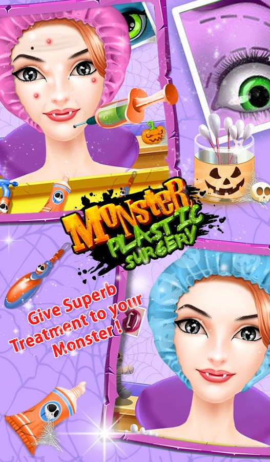 Monster plastic surgery- screenshot