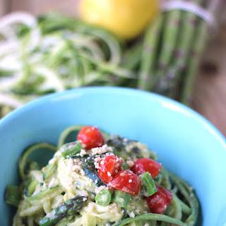 Creamy Avocado Zucchini Pasta Recipe