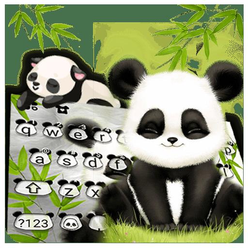 Baby Panda Keyboard Icon