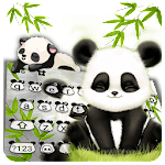 Baby Panda Keyboard Theme Icon