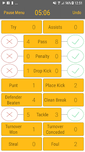Rugby StatKeeper- screenshot thumbnail