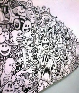Doodle Art Design Myšlenky - náhled