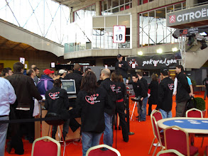 Photo: Le staff du P@L : chapeau à vous pour cet événement, du grand poker ! (super les chemises)