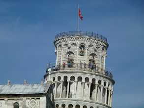 Photo: visitors into the tower require pre registration