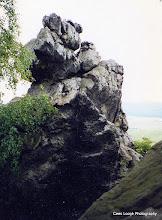 Photo: Blankenburg. Teufelsmauer.