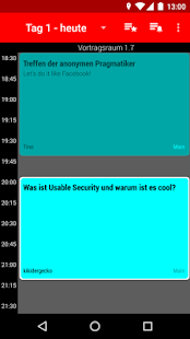 Hackover 2017 Programm- screenshot thumbnail