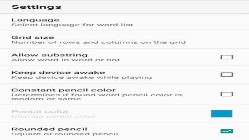 Word Search 1.0.20 screenshots 7