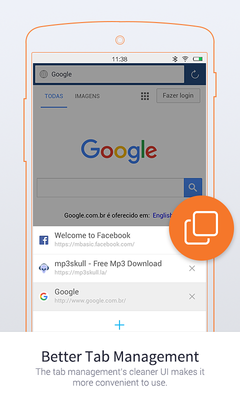 UC Browser Mini-Tiny and Fast- screenshot
