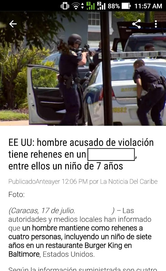 La Noticia Del Caribe- screenshot