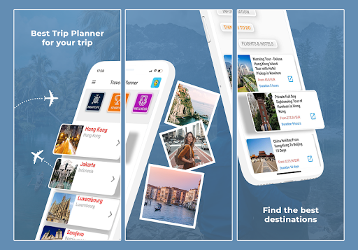 Travel Planner: مخطط رحلة على الطريق للحصول على لقطات شاشة RoadTrippers 1
