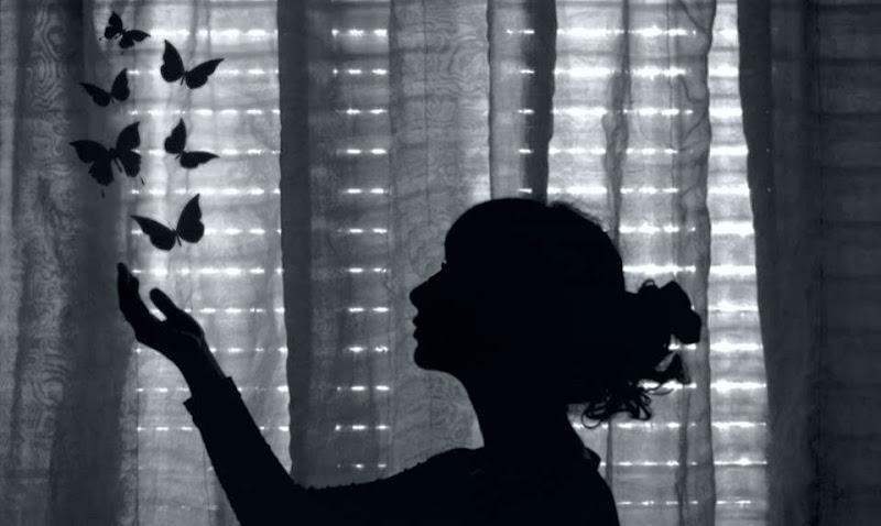 Libera dalle farfalle nello stomaco. di Patrizia's Photo