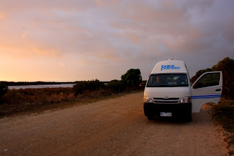 Photo: Year 2 Day 226 - Sunrise on The Coorong with Nancy