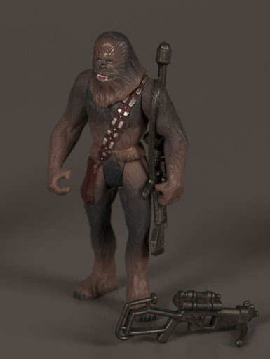 Action figure:Star Wars Power of the Force 2: Chewbacca with Bowcaster