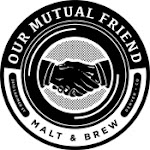 Logo for Our Mutual Friend Brewing