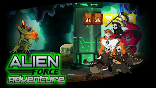 Aliens Force War Adventure X  screenshots 2