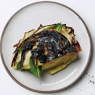 Blackened Cabbage with Kelp Brown Butter.