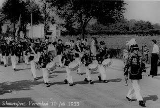 Photo: Schutterij Sint Joseph Vijlen - 1955