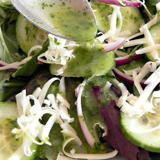 Healthy Cilantro Lime Dressing.