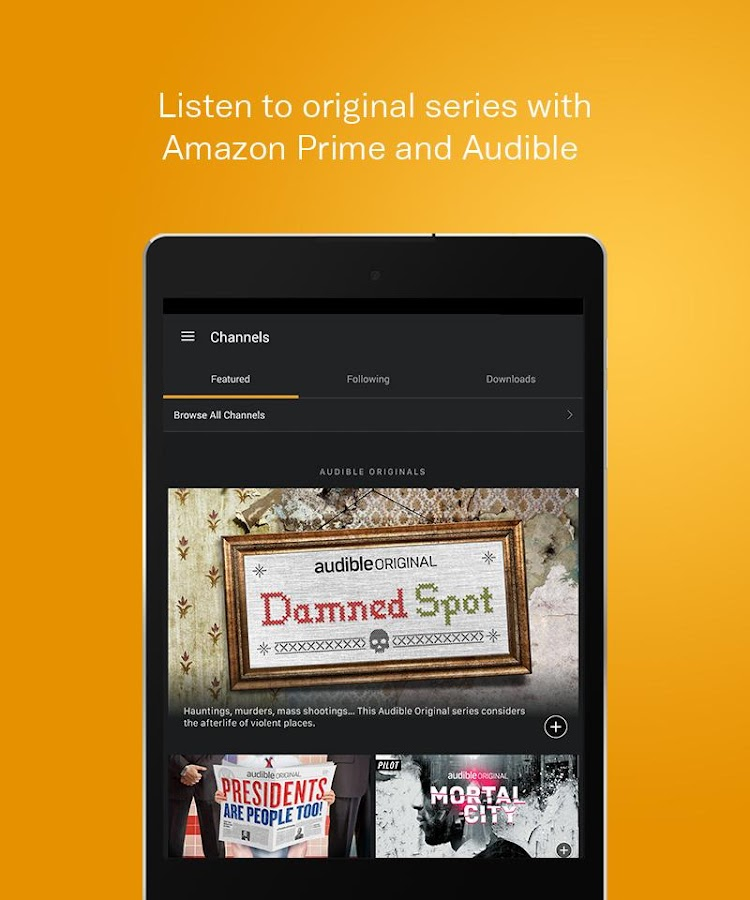 To use crawotinfu.ga content, first download the Audible app from the App Store, open the app and create an Audible account. At the time of publication, a monthly membership fee of $15 provides access to one free download per month and 30 percent off the price of additional audiobooks.