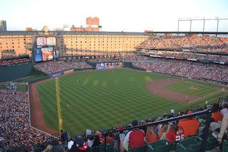 Photo: Baltimore Orioles Game