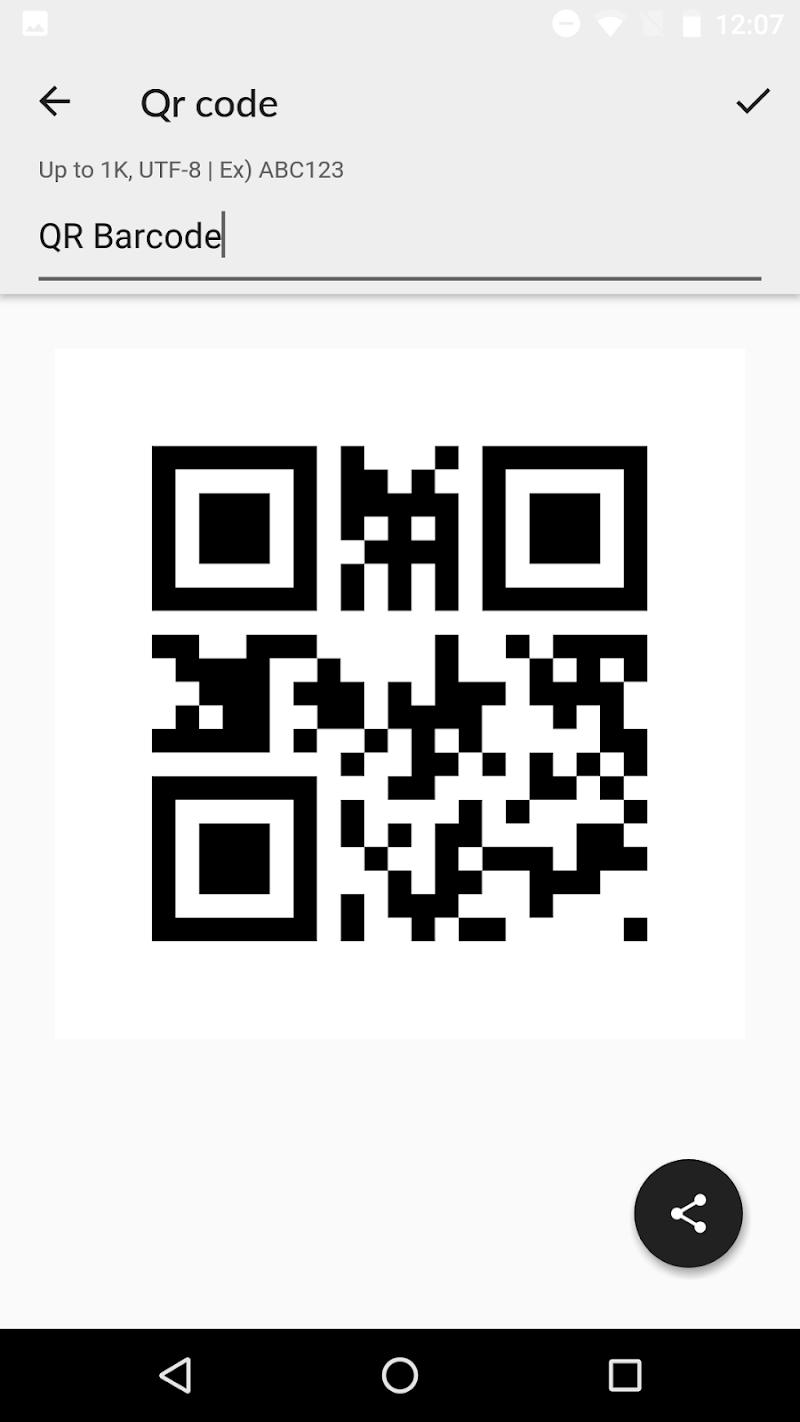 QR BarCode Screenshot 4