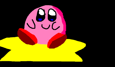 Photo: Kirby, with An Attitude