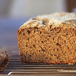 A Simple Loaf of 100% Rye Sourdough Bread.