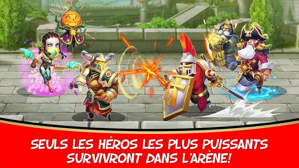 Clash de Châteaux:Castle Clash- screenshot