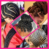 Braid hairstyle for black women