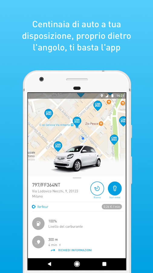 car2go- screenshot