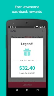 Liven - Dine and Get Cashback- screenshot thumbnail