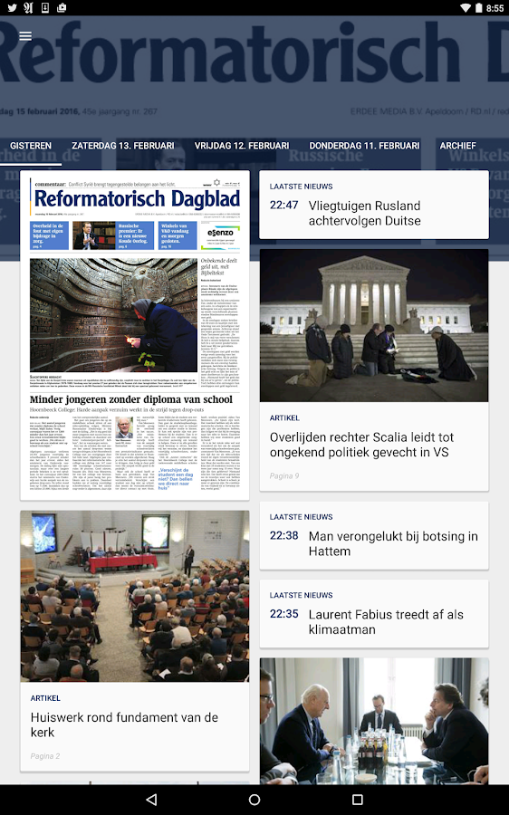 RD e-paper- screenshot