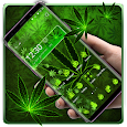 Green Weed Gravity Theme