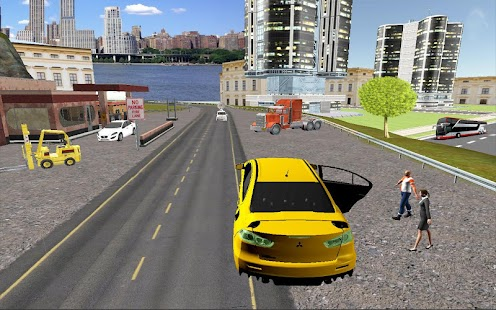 Big-City-Taxi-Drive-Simulation 3