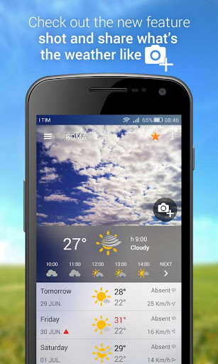 3B Meteo - Weather Forecasts  screenshots 1