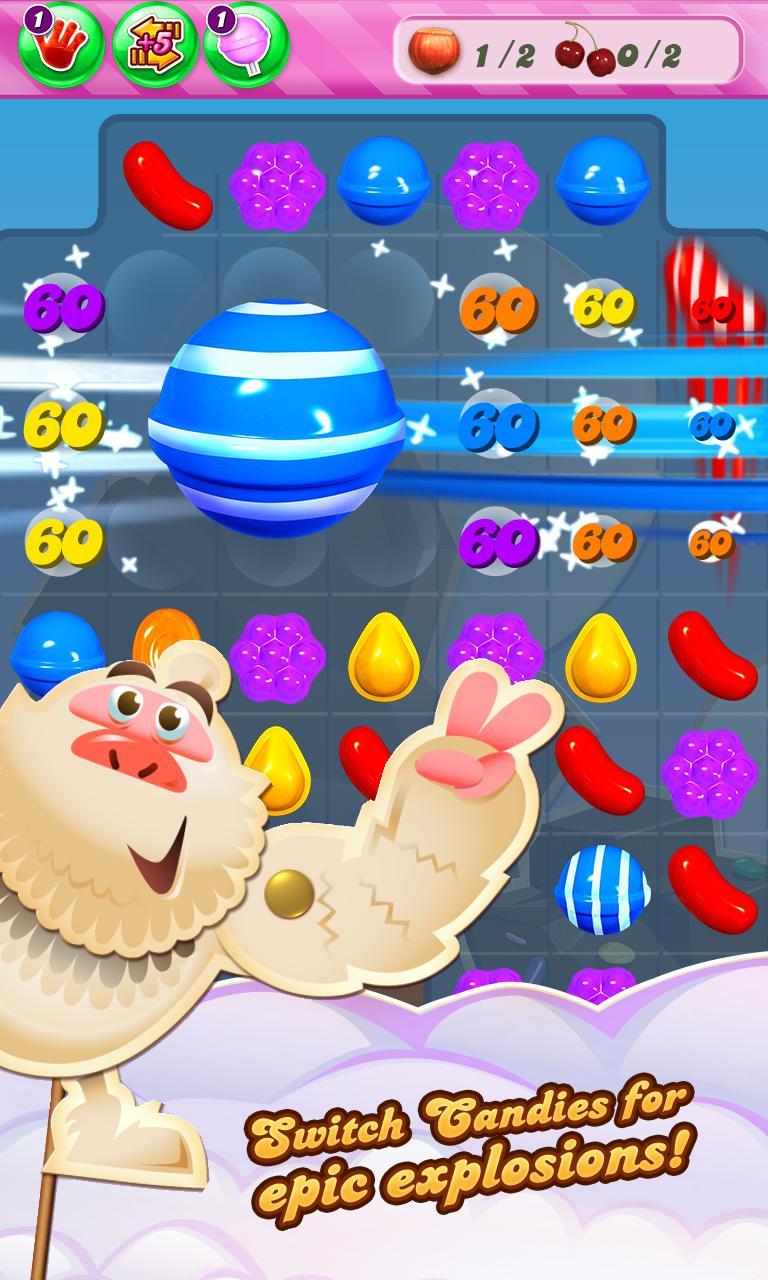 Candy Crush Saga screenshot #2