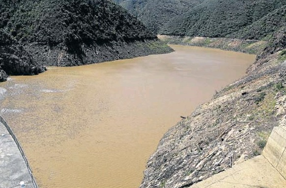 Nelson Mandela Bay's main water supply dam, the Kouga, stands at 10.37% of capacity